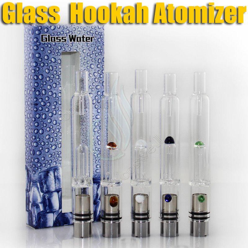 New Pyrex Glass Hookah atomizer vhit atomizer tank Dry Herb Wax Vaporizer herbal vaporizers pen water filter pipe ecig e cigarette bongs