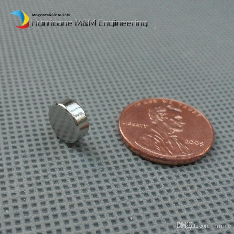 1 pack N35 NdFeB Magnet Disc Diameter 8x3 mm Dia. 0.31'' Precision Magnet Neodymium Magnets Cylinder Sensor Rare Earth Magnets