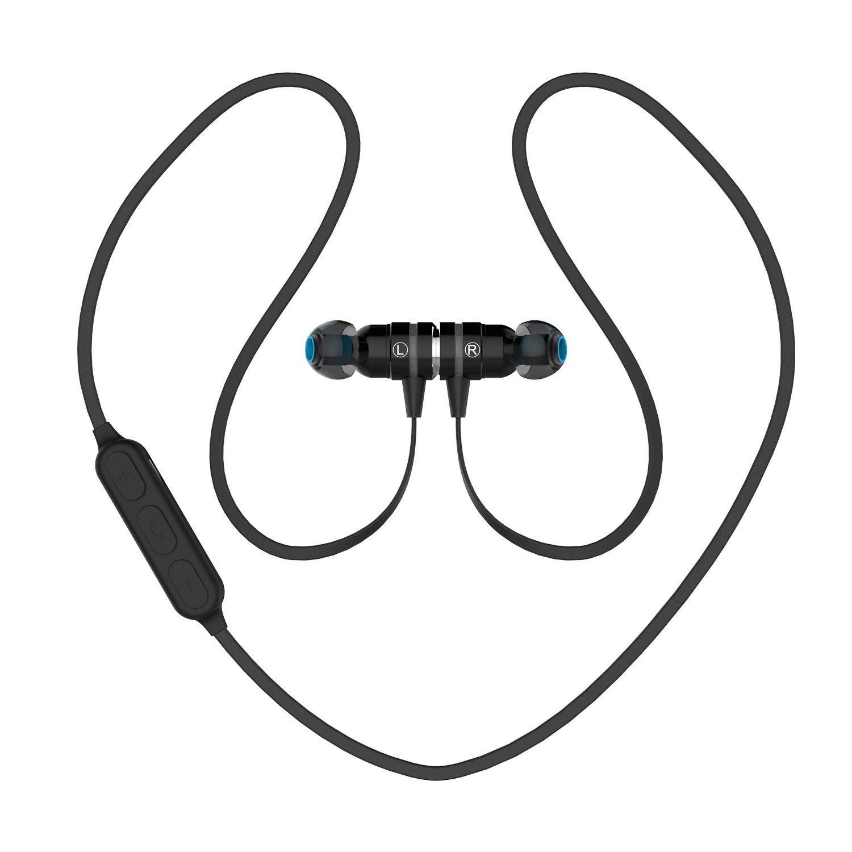 Handy Kopfhörer Test Drahtloser Kopfhörer Bluetooth 4 1 Sport Kopfhörer Schnurloser Kopfhörer Stereomagnetkopfhörer Für Telefon Xiaomi Android Ios Bluetooth