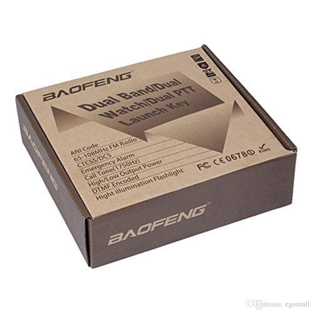 BAOFENG UV-82 VHF UHF Dual Band 136-174/400-520MHz 2-PTT 5W Two Way Radio by DHL