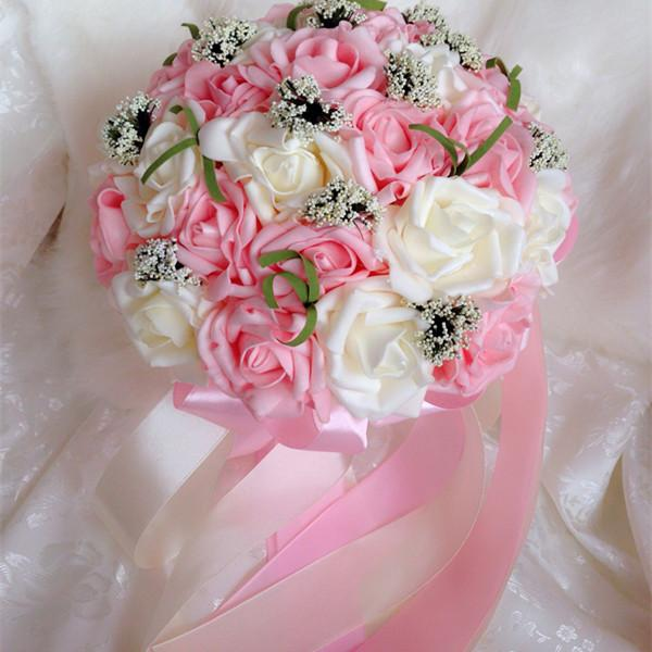 2015 Best Selling Colorful Wedding Bouquet Perfect Wedding Favors ...