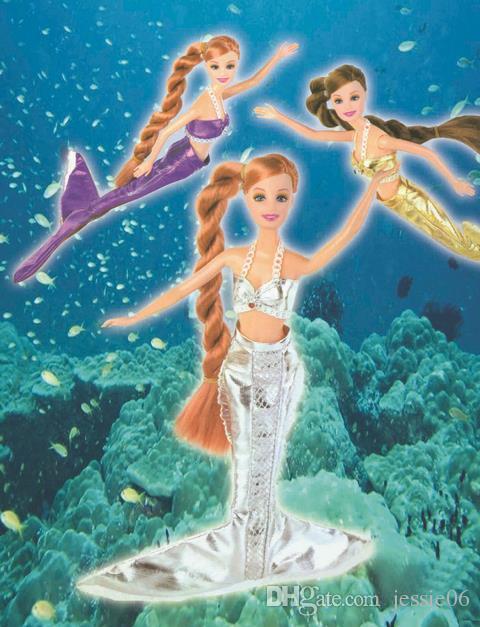 Çocuk Cosplay çocuk kız mermaid deniz hizmetçi elbiseler sutyen gömlek tops giyim Noel Cadılar Bayramı karikatür film sahne çünkü sahne sahne parti hediye