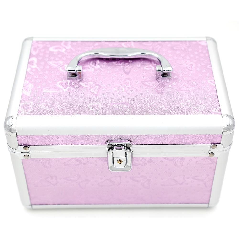 2018 makeup kit case professional make up box cosmetic bags cosmetic case 240 160 150 mm from. Black Bedroom Furniture Sets. Home Design Ideas