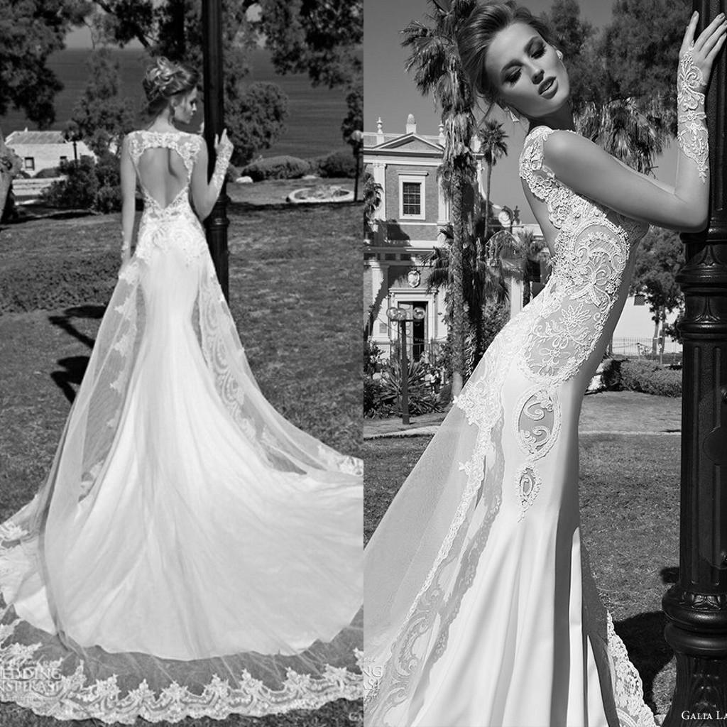 Sexy galia lahav wedding dresses mermaid v neck sleeveless open back sexy galia lahav wedding dresses mermaid v neck sleeveless open back chapel train lace appliques sheer garden bridal gowns galia lahav wedding galia lahav junglespirit Images