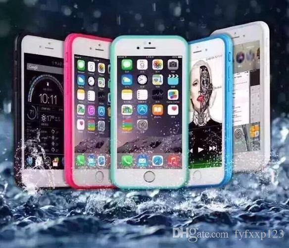 Waterproof Phone Cases Shockproof Underwater Diving full Cover Bag Case For iPhone 8 X 7/7 plus 6/6s plus 5/5s