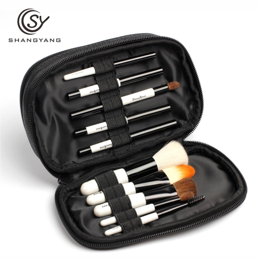 Sy Professional Mini Size Makeup Brush Set For Cosmetic Beauty Tools
