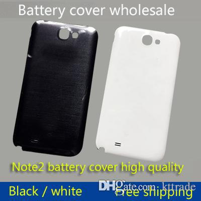 buy popular d287f e6ddc For Samsung Galaxy Note 2 II N7100 Original Housing Shell Before The Shell  Plate Full Battery Case Cover Back Cover