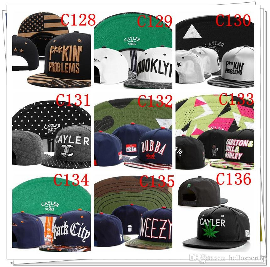 HOT Style Brand Cayler And Sons Son Snapback Caps Hip Hop Cap ... 0e32bf8262ef