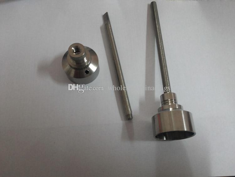 Domeless Titanium Ti Nail 10mm 18mm Male Female Carb Cap Dabber Grade 2 for Smoking Glass bong