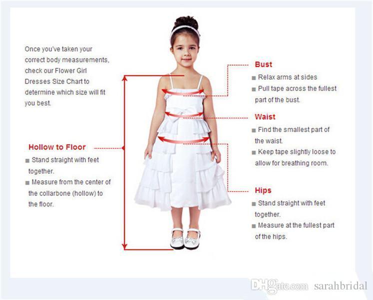 Zarif Balo Gelin Parti Törenlerinde Çiçek Kız Elbise Düğün İçin Spagetti Dantel Kabarık 2019 Çocuk Pageant İlk Communion Aşınma Custom Made