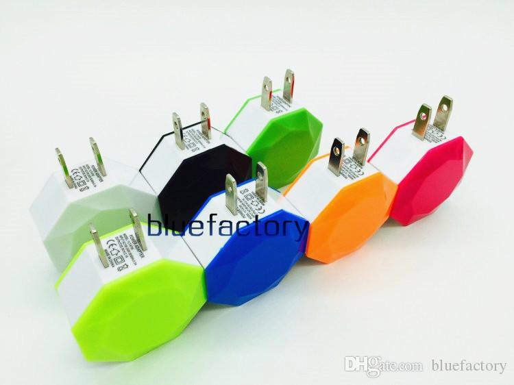 Универсальный двойной USB ЕС США plug 5 в 3A переменного тока 2 порта зарядное устройство адаптер для iphone 6 6 S Samsung S6 Edge plus HTC ipod ipad