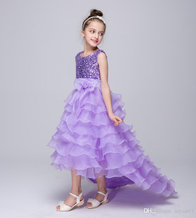 Summer Girls Dress Children\'S Clothing Party Princess Baby Kids ...