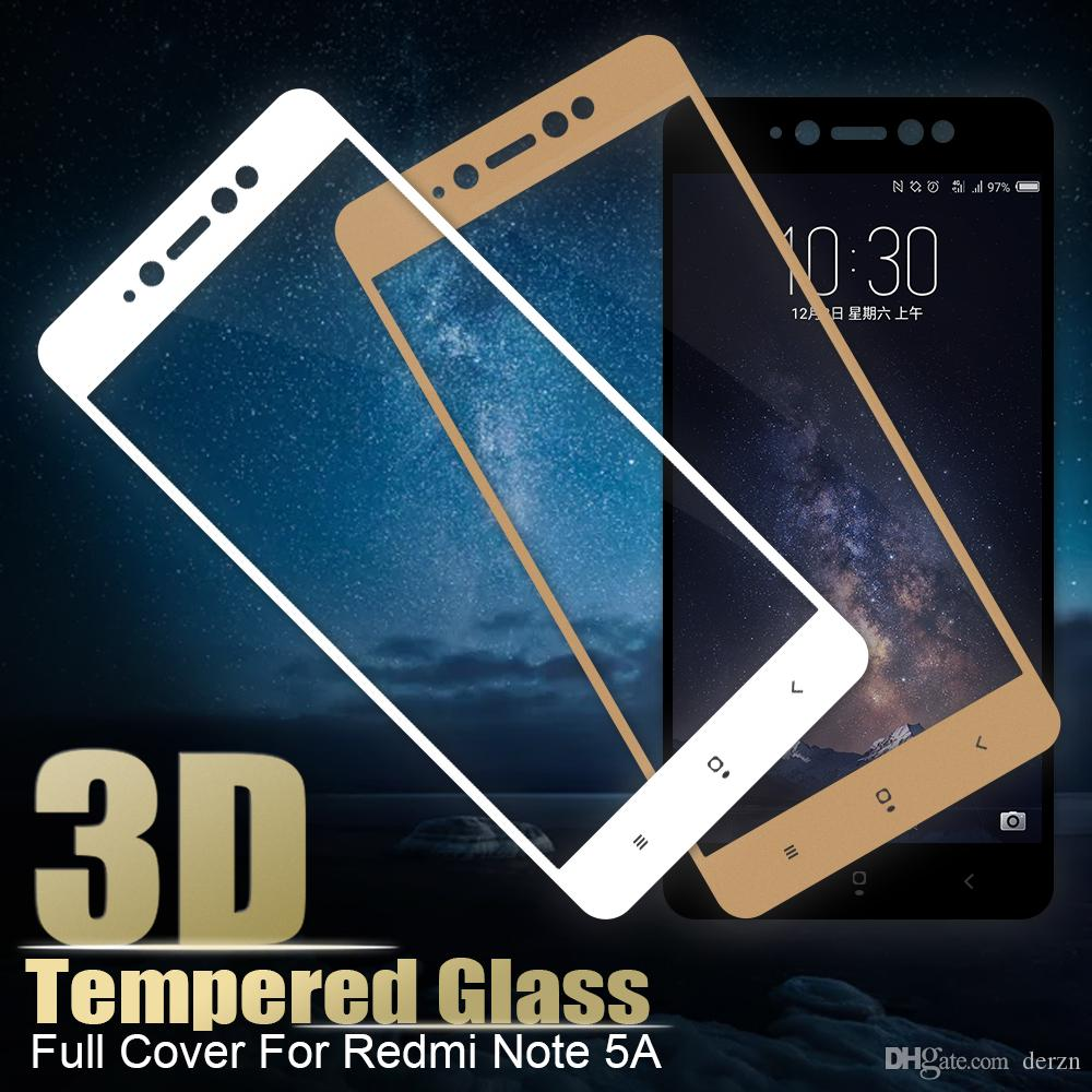 Tempered Glass For Redmi Note 4x Full Cover Screen Protector Xiaomi 5a 9h Protective Best Quality Cell