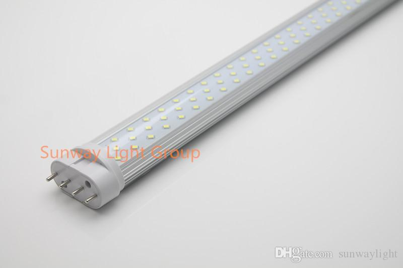 2g11 led tubes light 225mm 320mm 410mm 535mm 12w 15w 18w 22W 25w led 2g11 tubes 4pin SMD2835 AC85-265V