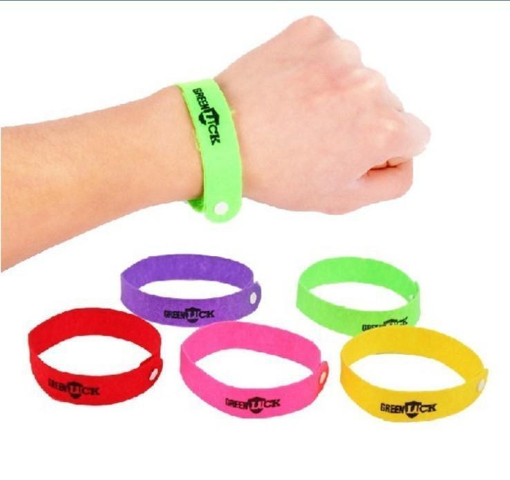 In vendita Calda zanzara Repellente Band Bracciali Anti zanzara Pure Natural Baby Wristband Hand Ring
