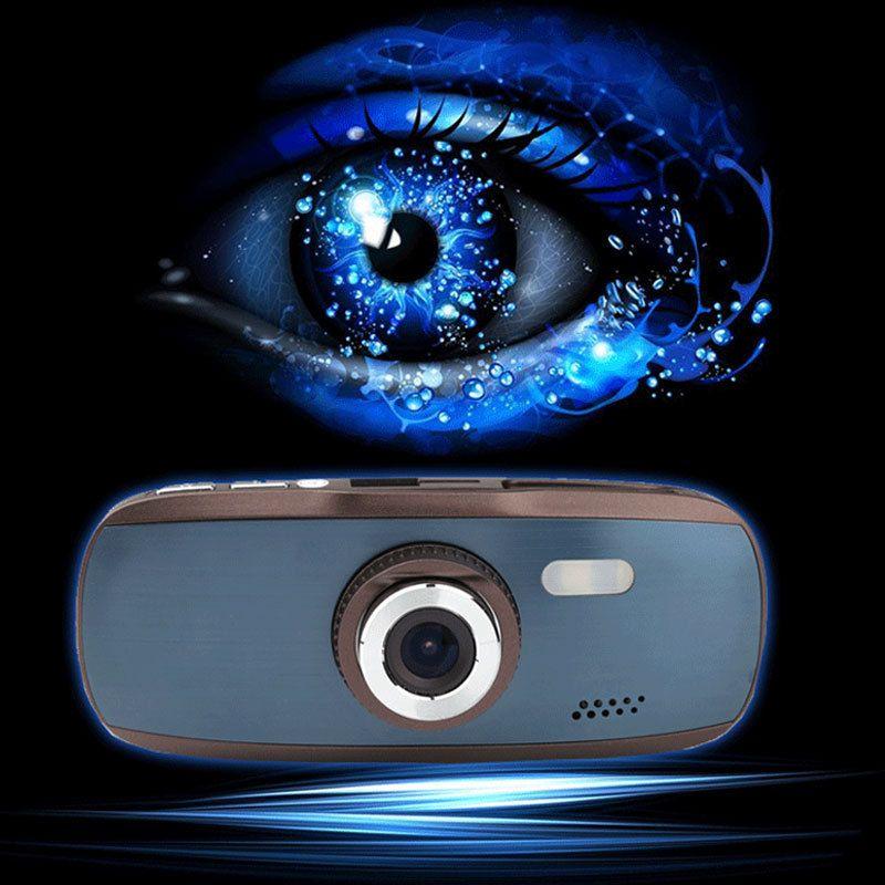 "Car dvr vision balck carcam Dash Cam GS108 Car Black Box G1W With Novatek 96650 + WDR Technology + AVC 1080P 30FPS + G-Sensor + 2.7"" LCD"