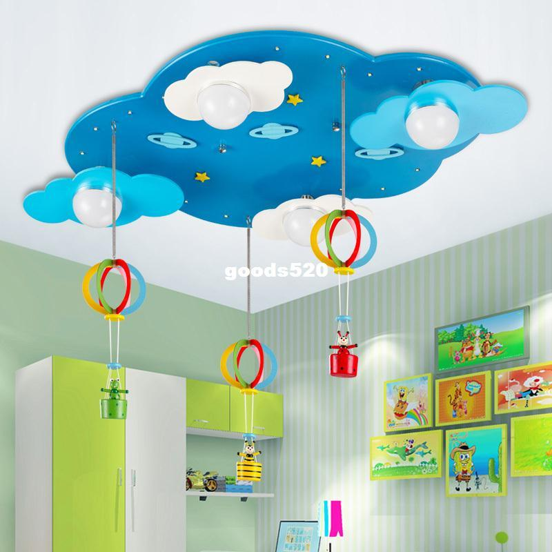 Cartoon Child Ceiling Light Girls Bedroom Lights Kids Novelty