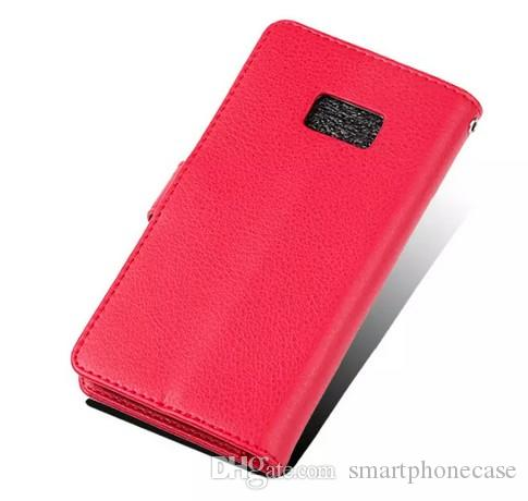 Fashion For Samsung S7 Case Flip Cover Wallet Luxury Original Colorful Cute Plastic Slim Leather Case For Samsung Galaxy S7 G930 G9300