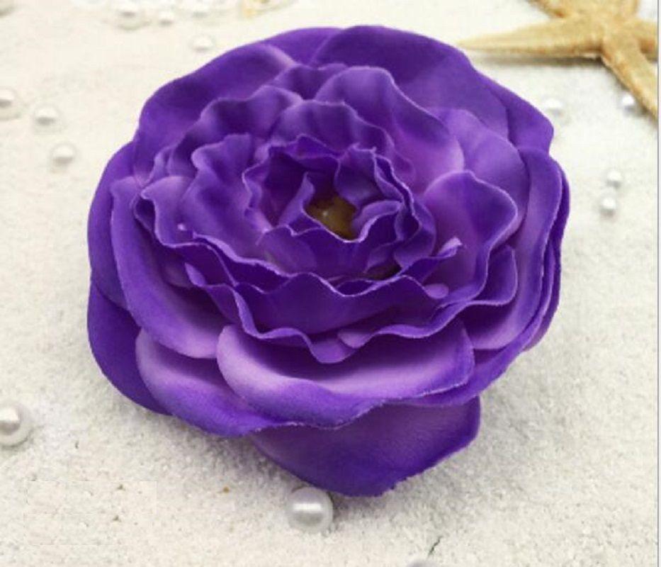8 cm Camélia Artificial Flores Heads Para Fotografia Props Wedding Bridal Bouquet Home Office Decoração