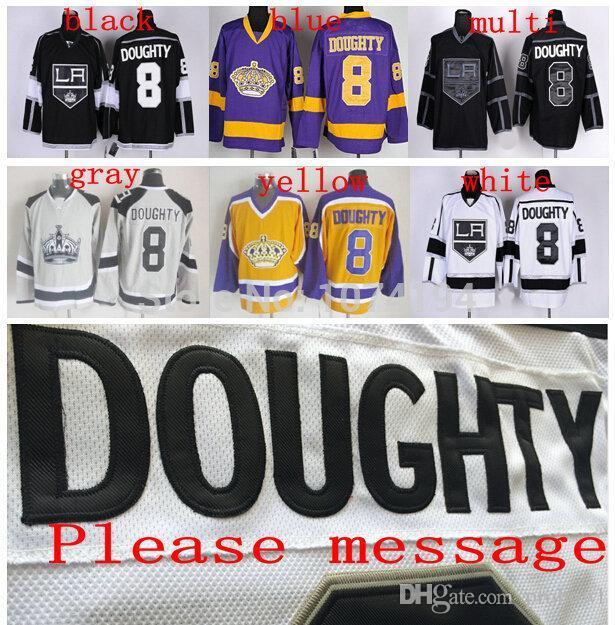 2019  8 Drew Doughty Hockey Jersey Authentic Cheap Embroidery 100% Stitched  Logos Jersey Not All Sport Jerseys In Store From Probowl 1946d287bc5
