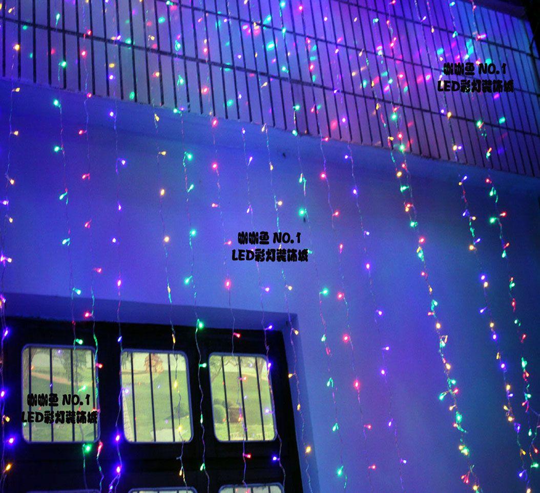 Wholesale led curtain lights christmas decoration light