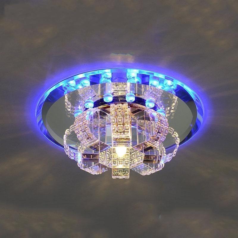 Grosshandel Mini Kristall Lampe Led Flur Korridor Lampe Beleuchtung