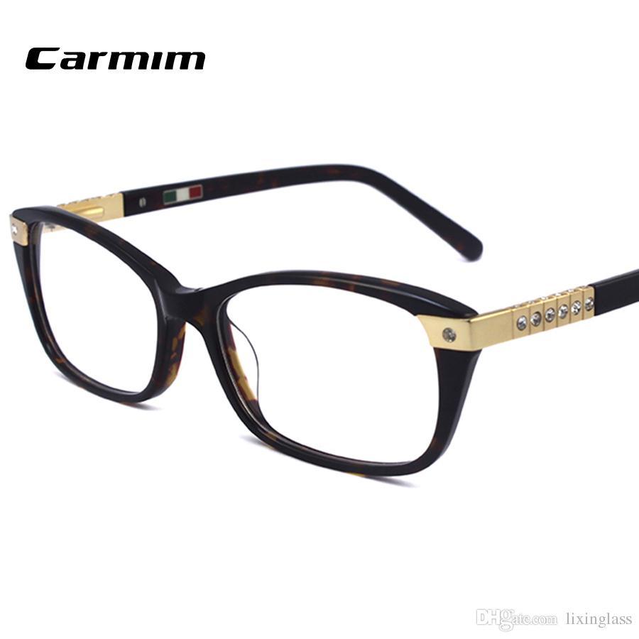 54cdecd237f 2019 Fess Shipping Luxury Diamond Eyeglass Frames High Quality Glasses  Women New Designer Optical Frame Eyewear 602R From Lixinglass