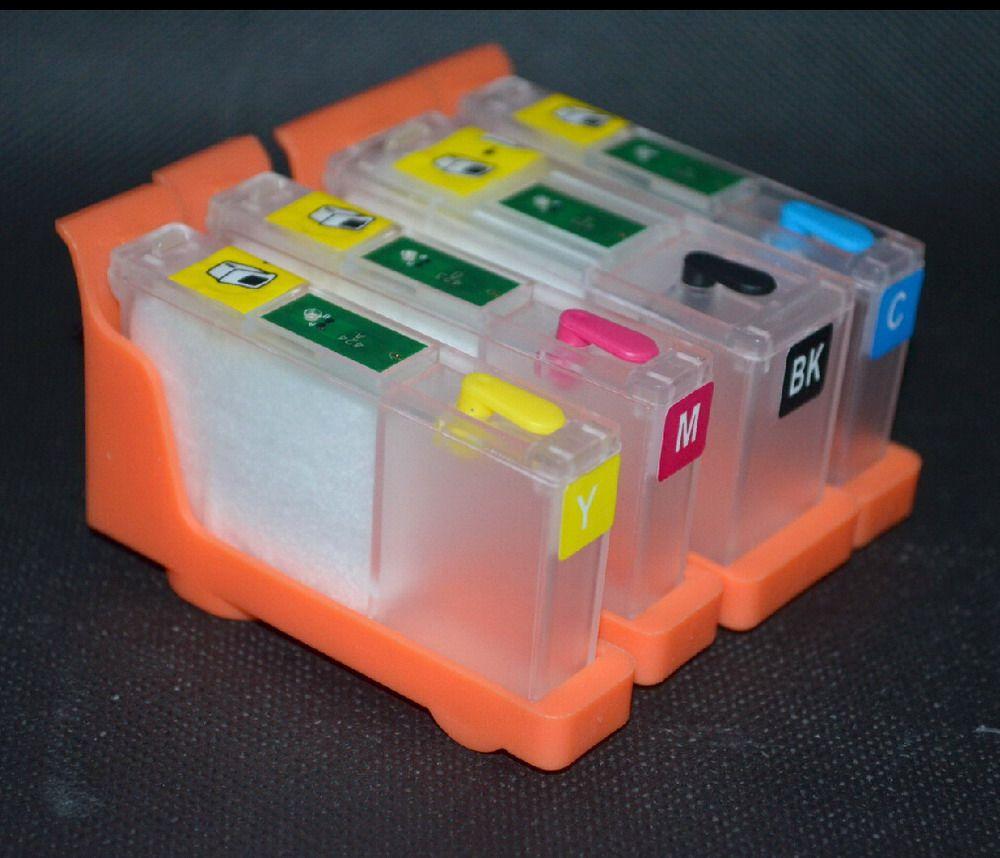 Nachfüllbare Tintenpatrone für Primera RX900 / LX900 Farbtintenstrahldrucker, ohne Chips
