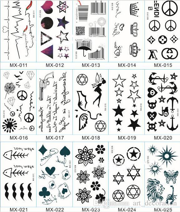 Tattoo sticker temporary tattoo stickers henna tattoo for Temporary tattoos for kids