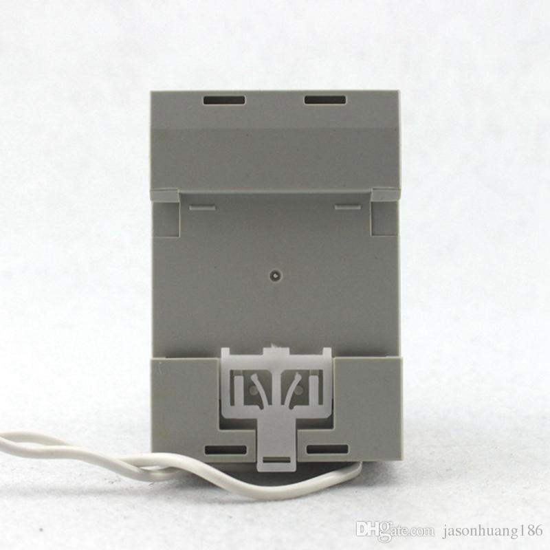 DIN RAIL Dual Led Display AC80-300V AC0.1-99.9A Digital Voltmeter Ammeter Volt Amp Meter Voltage Current Panel Meter