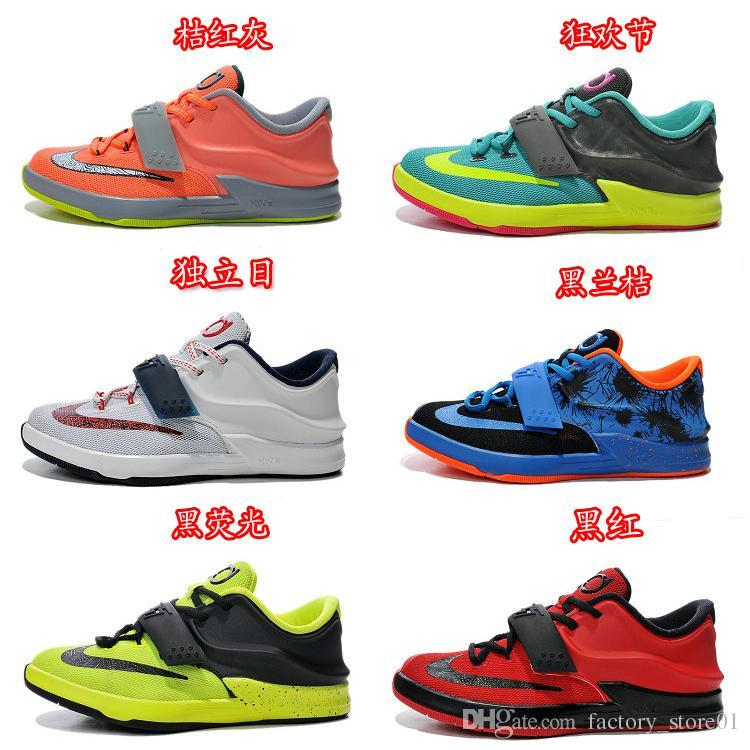 meet 975cf f32ad ... free shipping nike kevin durant 7 kd vi kd 7 vii discount kids  basketball shoe toddlers