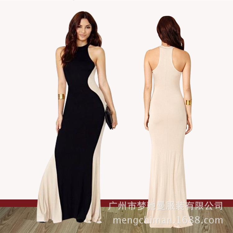 2015 Prom Dresses Sexy Woman Fishtail Bodycon Prom Night Party Beach ...