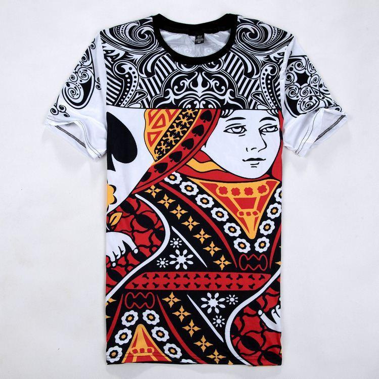 Summer Urban Style King Queen T Shirt Unisex Short Sleeve 3d ...