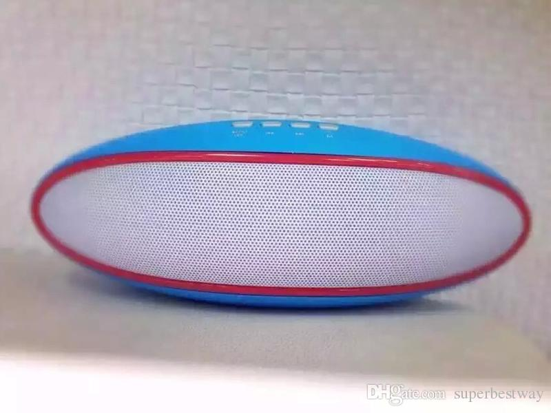Rugby A52 Bluetooth Speaker Portable Mini Wireless Subwoofer Support TF Card FM AUX Hand Free Call With Built-in Mic DHL Free MIS099