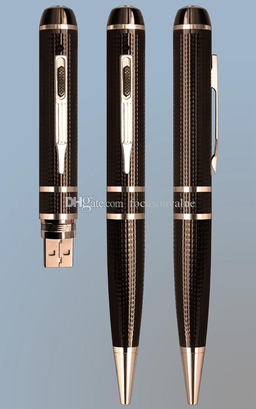 2k Pen Camera 16GB 32GB H.264 Motion Detection HDMI Port Full HD 2304x1296P 1080P Mini Ball Pen DVR pinhole Camera video recorder