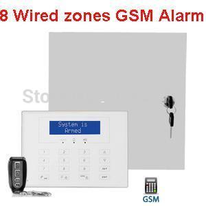 8 Wired Zones Hard Wire Gsm Alarm System Wired Alarm System Gsm Network  Network Alarm Alarm Clock Wav Sound Network Enhancement Online With  $167.92/Piece On ...