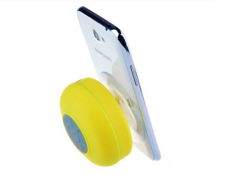 Wasserdichte drahtlose Saug-Bluetooth-Sprecher-Dusche-Auto-Freisprecheinrichtung empfangen Anruf-Musik-Telefon-Mikrofon-Sprecher-freie Anlieferung / up
