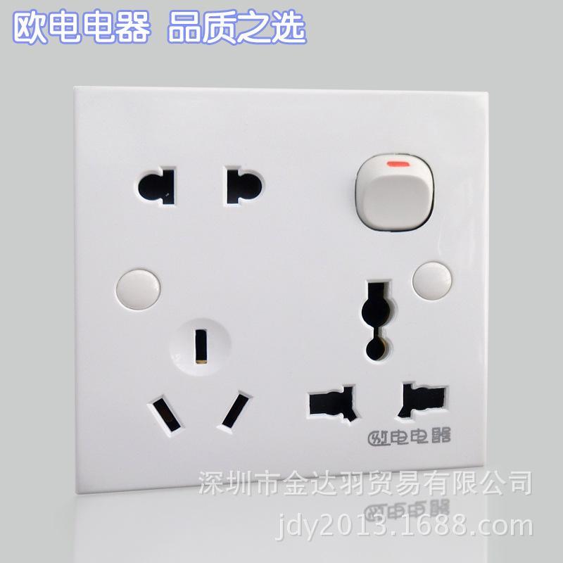 2018 Cheap European Electrical Wall Switch Socket A Twenty Three ...