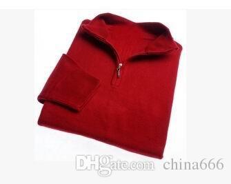 SPEDIZIONE GRATUITA di marca di alta qualità Nuovo maglione della chiusura lampo maglione di cachemire maglioni pullover maglione degli uomini degli uomini di inverno maglioni di marca # 0125