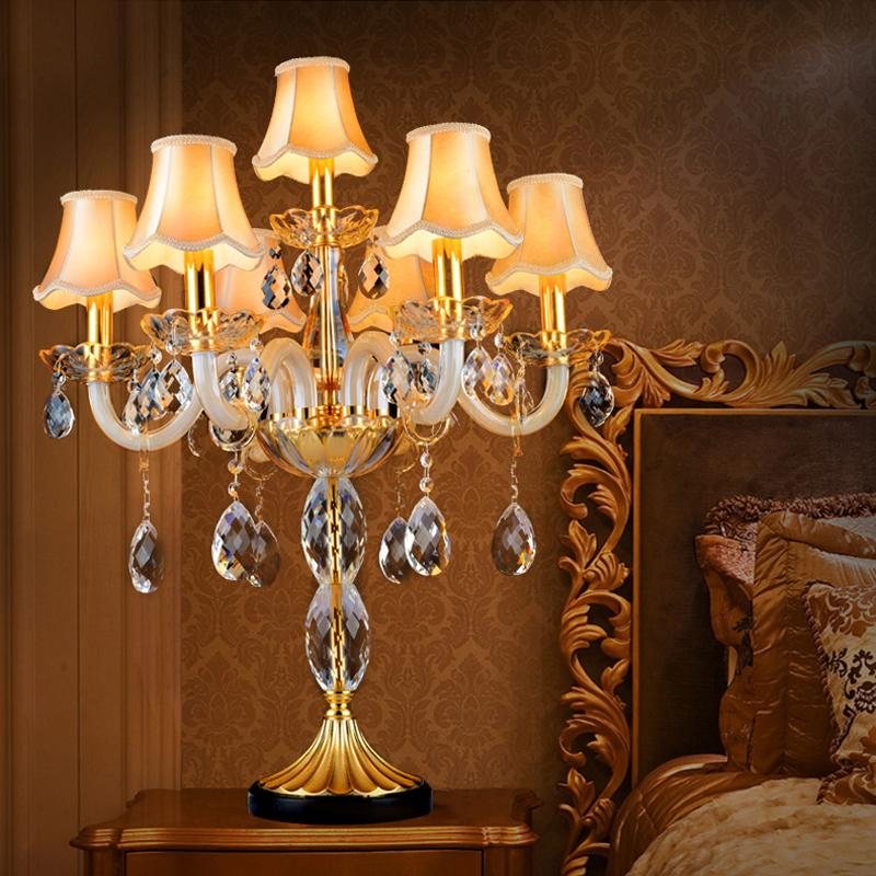 Unique Bedroom Lighting: 2019 Bedroom Industrial Table Lamps Led Luxury Table Light