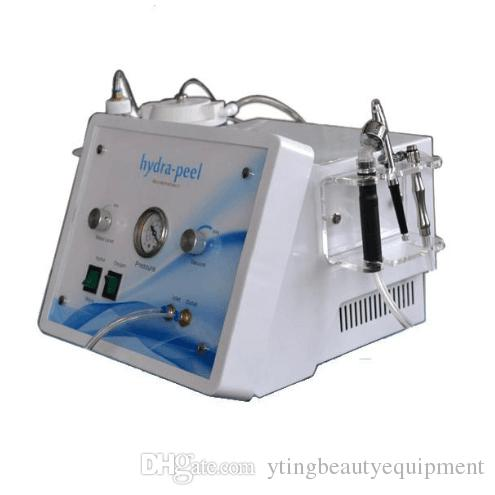 SPA Salon 3in1 portable diamond dermabrasion water oxygen skin peeling hydra facial cleaning machine skin care
