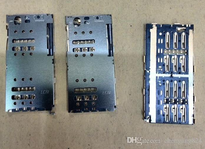 Original new SIM card reader contact connector holder for MEIZU meilan M1 note M463U slot tray module,HK