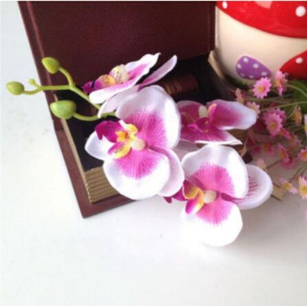 10%скидка 2015 новое прибытие!Красочные свадебные свадебные орхидеи цветок волос клип заколка аксессуары Шпилька свадебный цветок украшения, 10 шт. / лот