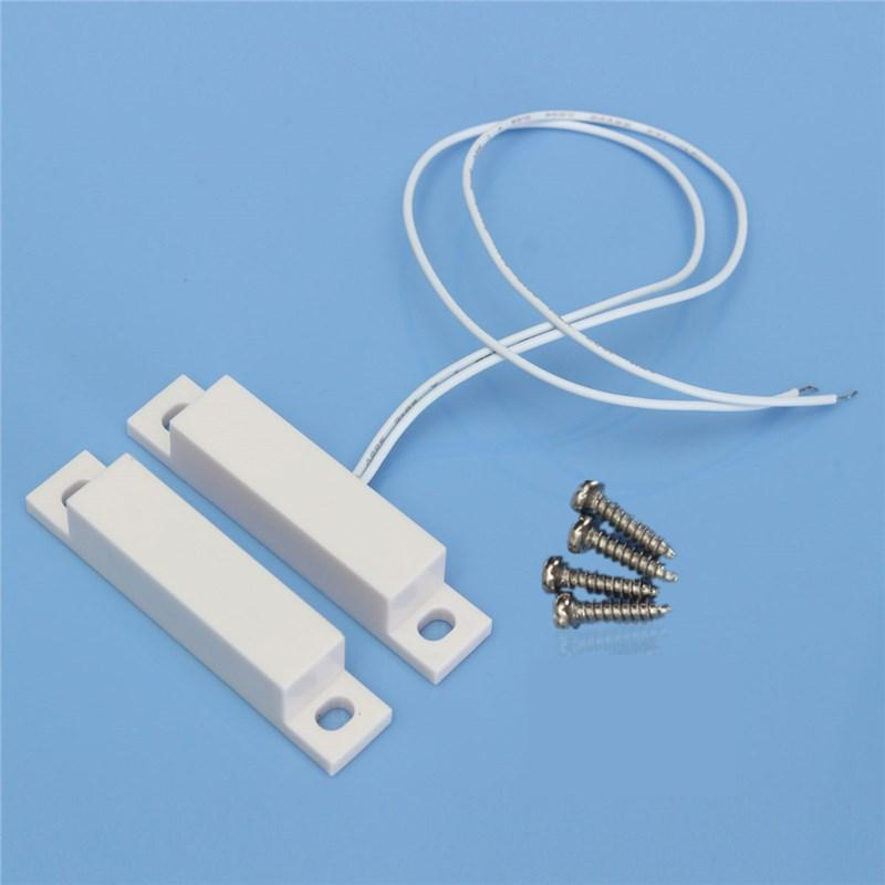 New Arrival Wired Door Window Sensor Home Alarm Magnetic Switch With Screws order<$18no track