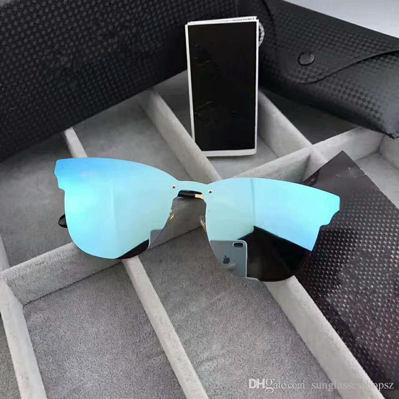 2017 NOUVELLE marque polarisée aviation lunettes de soleil pour hommes femmes hommes conduisant des lunettes réfléchissant revêtement lunettes de vision miroir de conduite