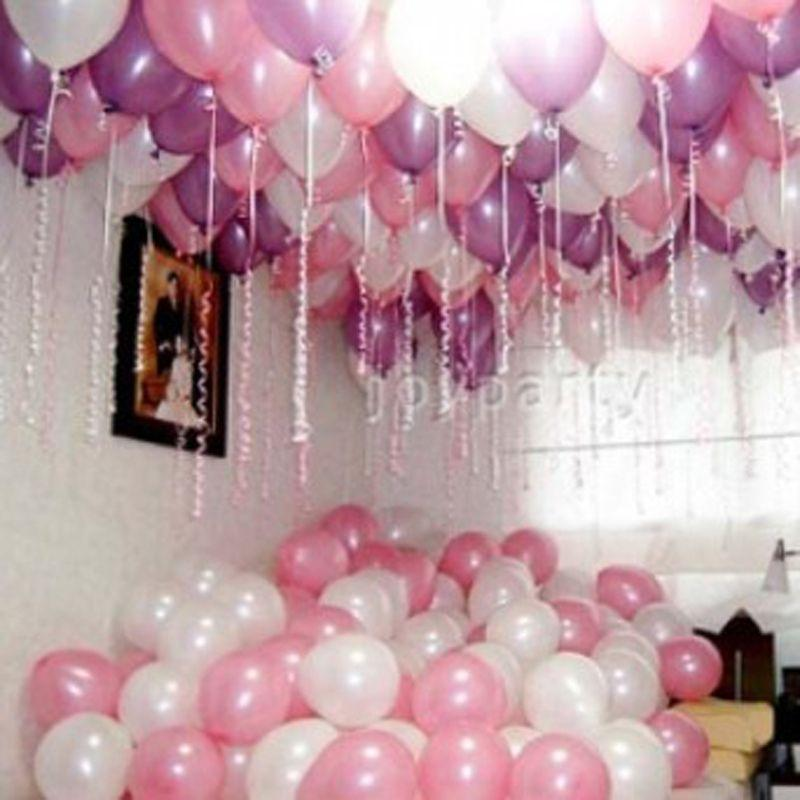 Package Romantic Wedding Room Decoration Balloon Layout Supplies Thicker Pearl Balloons