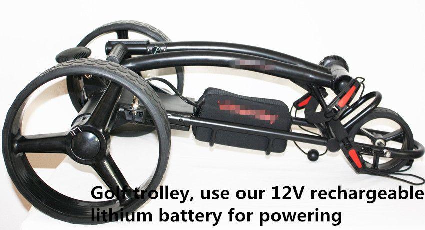 Литиевая батарея 12V 300W для тележек для гольфа тележка для гольфа 12v 25AH на складе EU USA AU бесплатная доставка без налога сумка для переноски