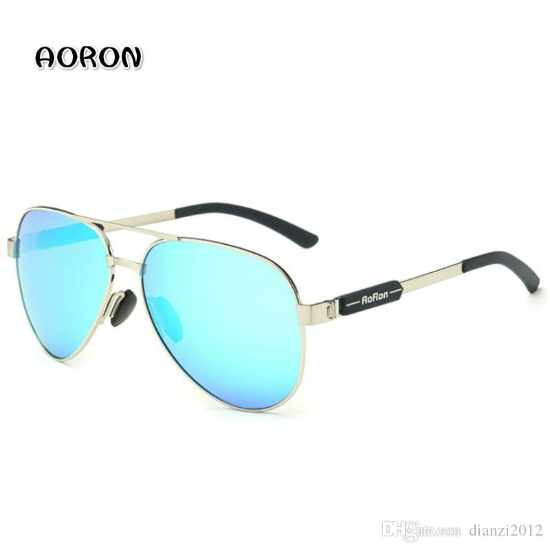 2dec67aafd Fashion Polarized Sunglasses For Men Driving Glasses AORON Brand High  Quality Designer Outdoor Sports Sun Glasses Women Eyewear Goggles Sunglasses  ...