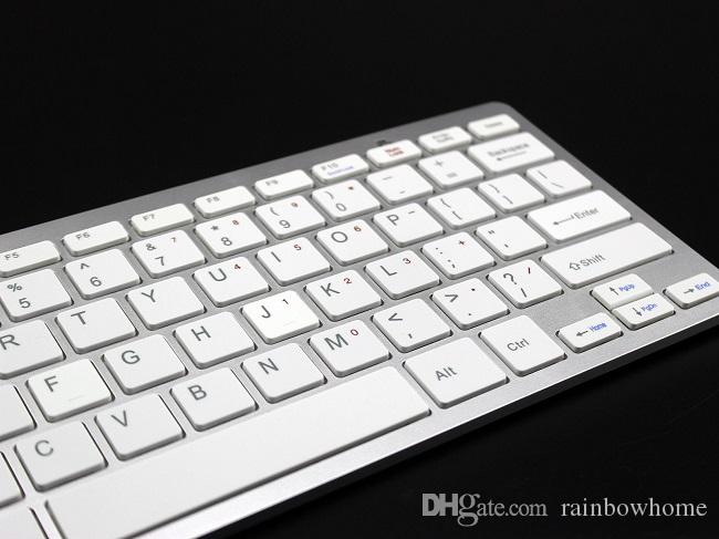 Universal Ultrathin Wireless Bluetooth Keyboard for iPad Android Tablet PC Desktop Computer Protable Mini Qwerty Keyboards