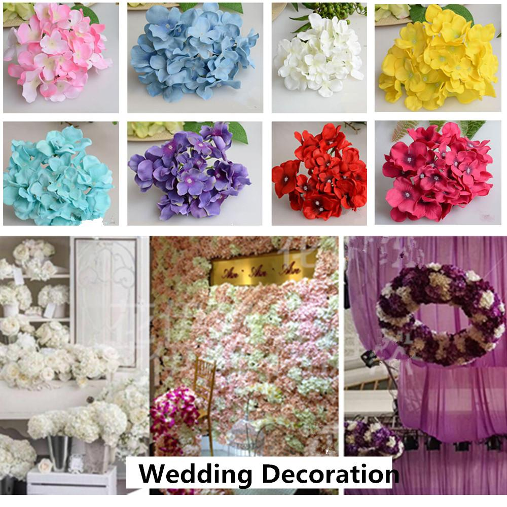 2018 Wholesale Luxury Artificial Hydrangea Silk Flower Amazing